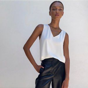 🛍3 for $25 🛍 Aritzia Babaton Murphy Blouse White